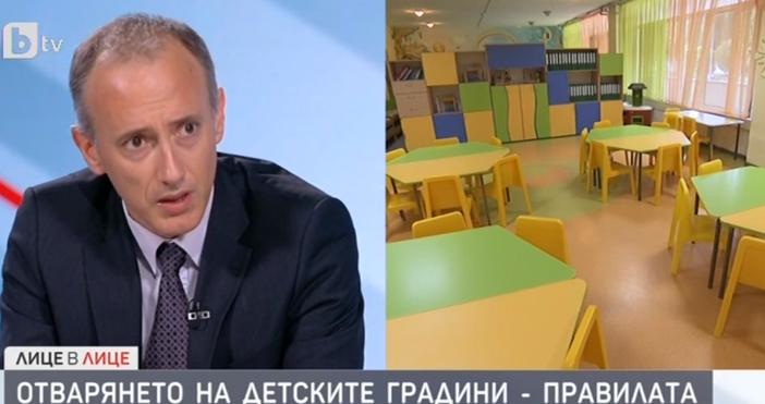 Редактор:Недко Петровe-mail:nedko_petrov_petel.bg@abv.bgАко след отварянето на детските градини, се установи заразено