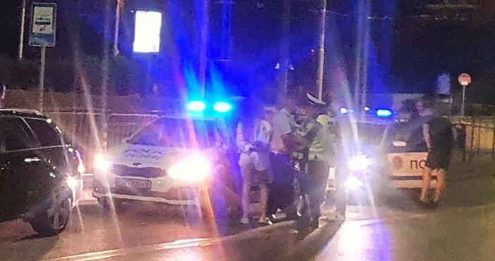 Снимка: БулфотоСреднощни шофьор и пътници са задържани в Четвърто районно