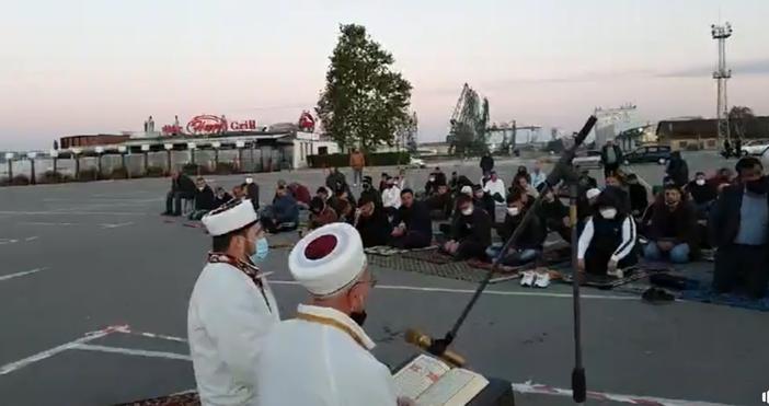 Кадър и видео: Районно мюфтийство - Варна, фейсбукВъв Варна бе