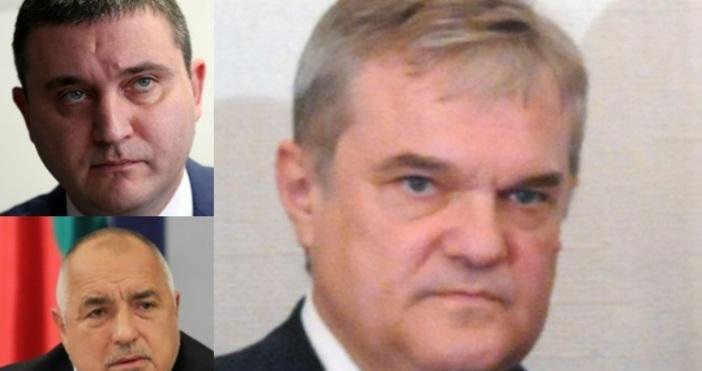 Борисов е в затруднение заради министъра на финансите Владислав Горанов.