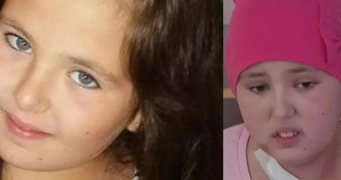 11-годишната Сиана е диагностицирана с остра лимфобластна б-клетъчна левкемия, която,