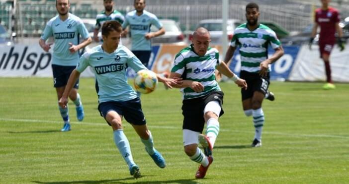 Отборътна Черно море губи от Дунав с 0:1 презвторото полувреме