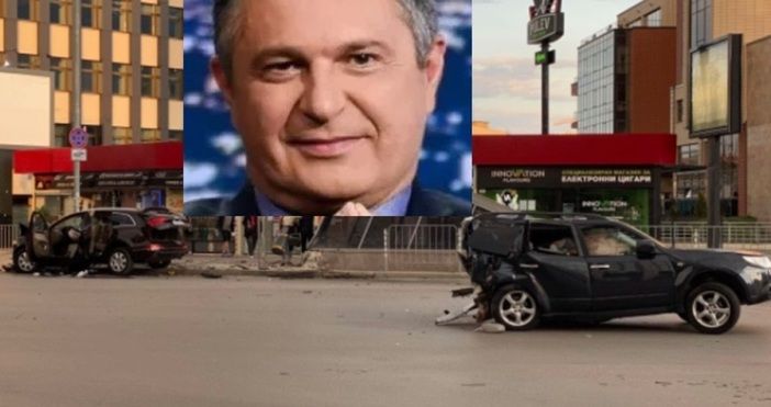 Кристиан Николов, който блъсна с джипа си колата на Милен