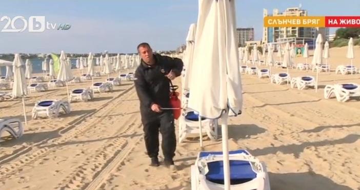 кадърbTVКурортът Слънчев бряг е готов да посреща туристи, но чужденци