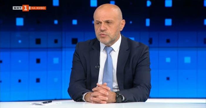 Кадър: БНТВицепремиерът Томислав Дончев очерта перспективата държавата да насърчава развитието