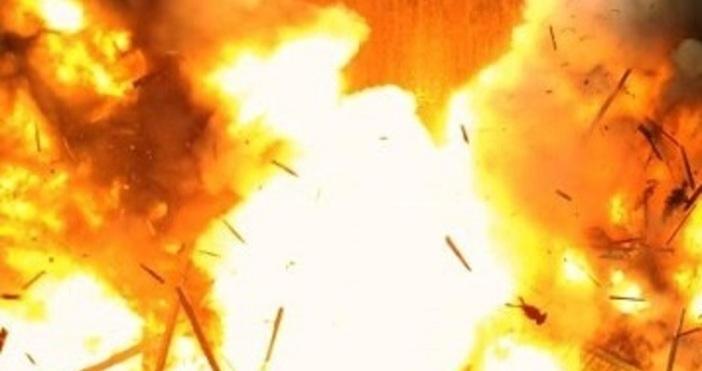 Взрив избухна около 20,20 часа в цех на завода за
