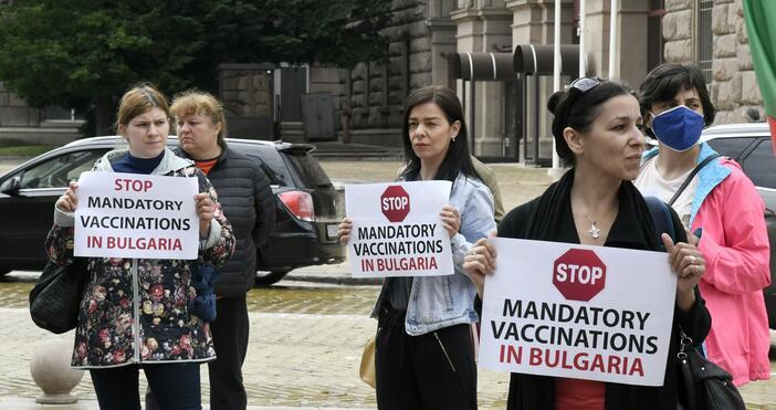 Източник и снимки: БулфотоМалцина се събраха на два паралени протеста