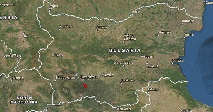 Лекоземетресениеразлюля ЮжнаБългариявчера в 21:06 часа.Трусът е смагнитуд2,4 по скалата наРихтер.По