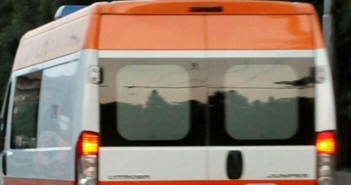 Снимка: БулфотоИнцидент на пътя Русе-Велико Търново.При село Масларево в община