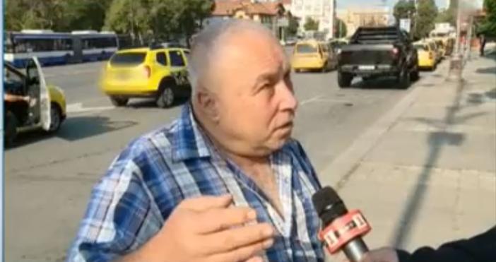 Източник и кадър: БНТТаксиметрови шофьори от Варна организираха протестно автошествие.
