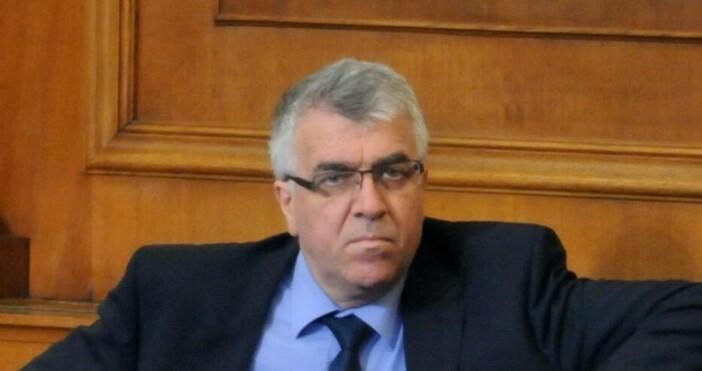 Снимка БулфотоНякакъв тулуп от Банкя обижда председателят на парламента. Цяла