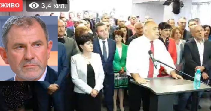 Било е на косъм премиерът Бойко Борисов да хвърли оставка.