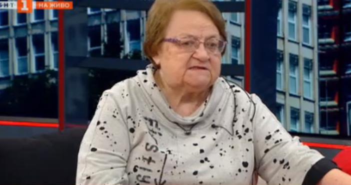 Кадър БНТВирусологът проф. Радка Аргирова каза, че не става дума