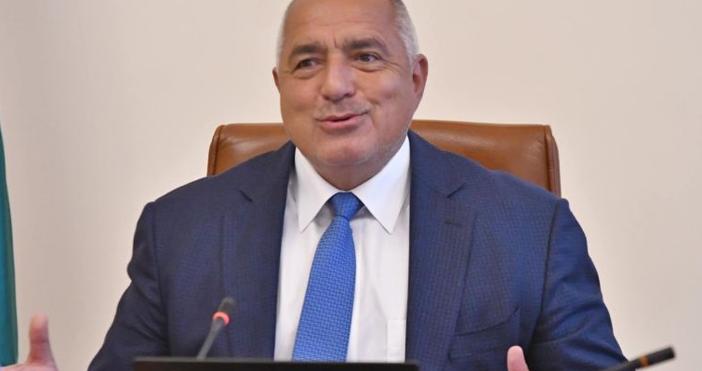 Снимка: БулфотоМинистър-председателятБойко Борисов изпрати поздравителен адрес до президента на Съединените