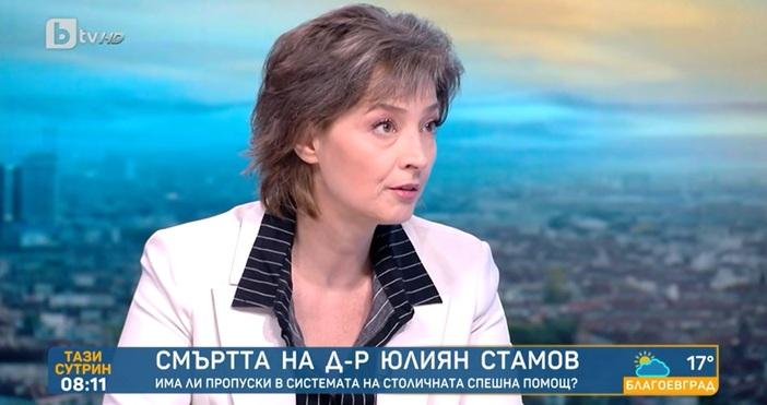 Кадър: БТВД-р Стамов не е искал линейка, защото е в