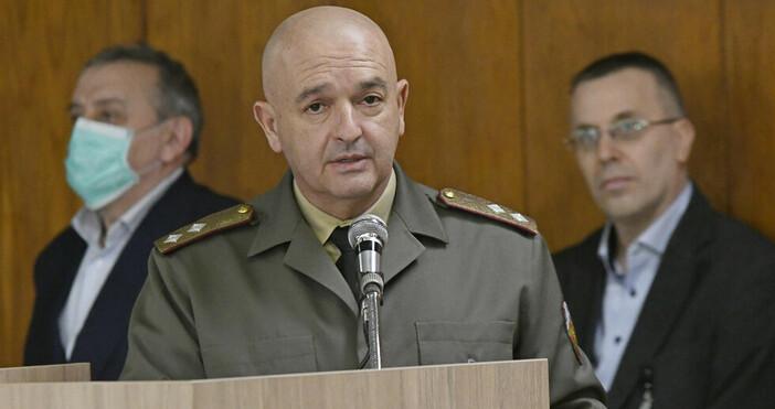 БулфотоВ 13.00 часа в Министерството на здравеопазването Националният оперативен щаб