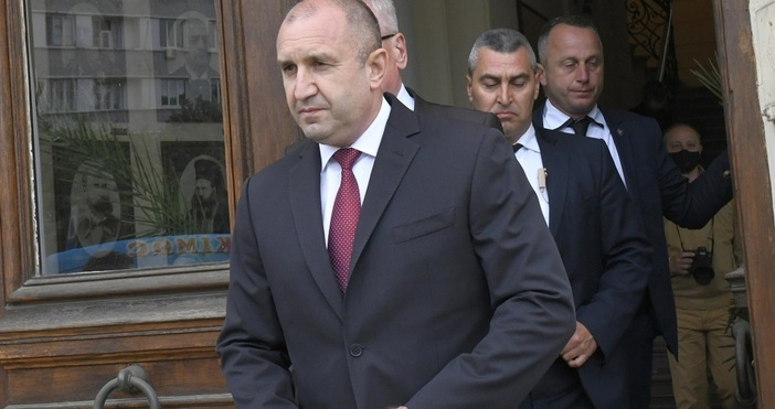 Снимка: Булфото, архивПрезидентът Румен Радев ще направи изявление за медиите