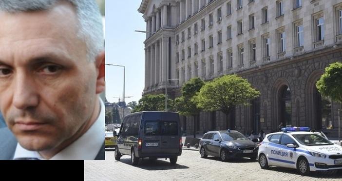 БулфотоБурна реакция в мрежата след нахлуването на прокуратурата в президенството
