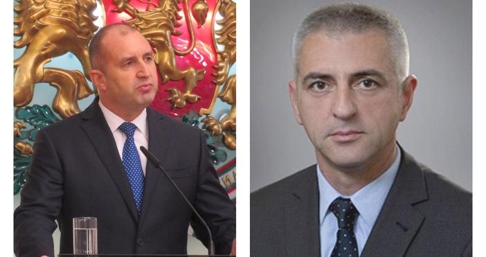 Президентът Румен Радев поиска оставката на началника на Националната служба