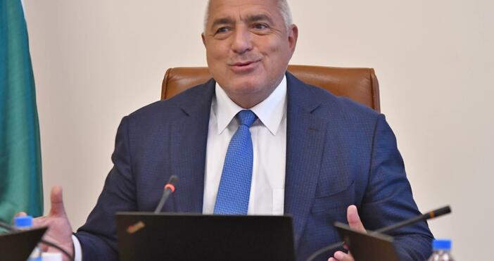 Снимка: БулфотоМинистър-председателят Бойко Борисов, министърът на транспорта, информационните технологии и