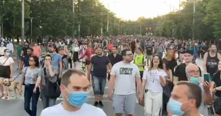 БНРКадър Дневник.бгЧасове наред центърът на София беше блокиран от протестиращи.
