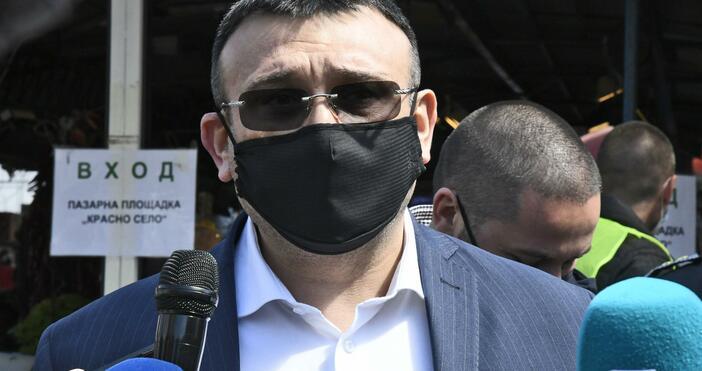Снимка: Булфото, архивМинистърът на вътрешните работи Младен Маринов обяви, че