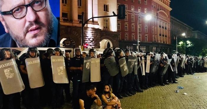 Още по темата11.07.2020 / 07:59Мартин Карбовски: Полицията върши зловещи неща.