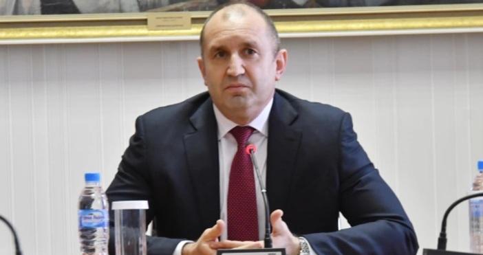 Снимка Булфото, архивДържавният глава Румен Радев изказва съболезнования на семейството,