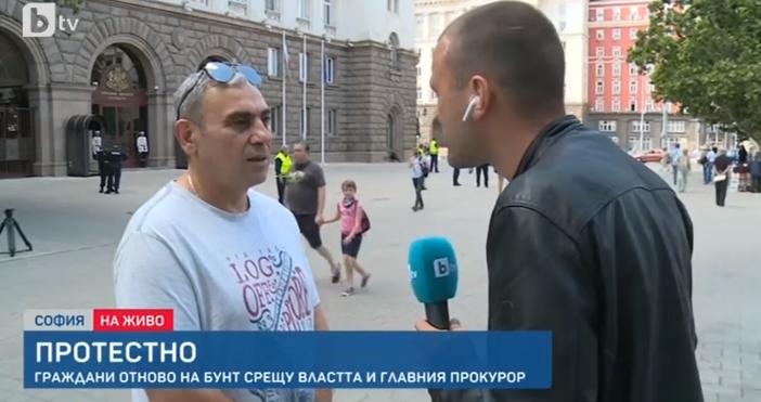 Редактор:Недко Петровe-mail:nedko_petrov_petel.bg@abv.bgКадър: БТВПротестът срещу правителството е обявен за шести ден