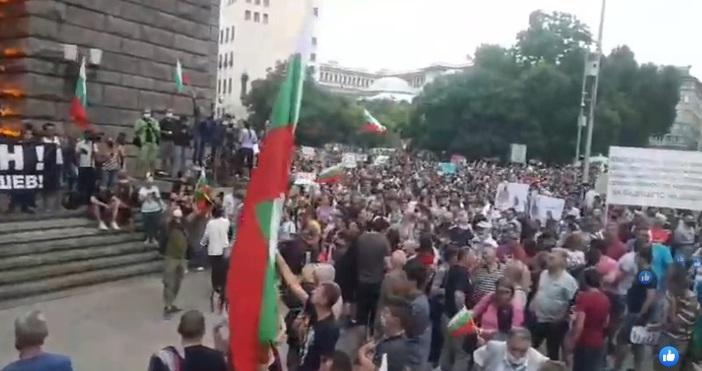 В София тече, може би, най-големият протест от началото на