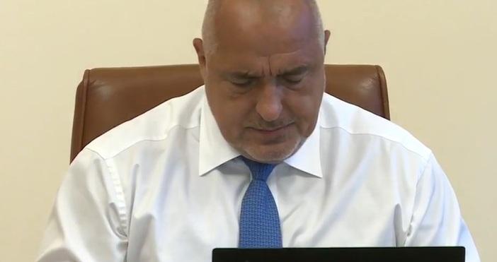 Кадър ФейсбукПремиерът Бойко Борисов забрани на Кирилов да пише във