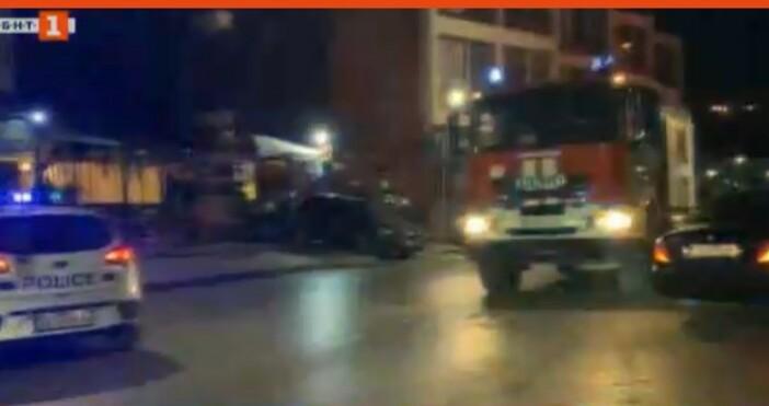 БНТкадър: БНТЗа инцидент във Велико Търново предава БНТ сега. Кола