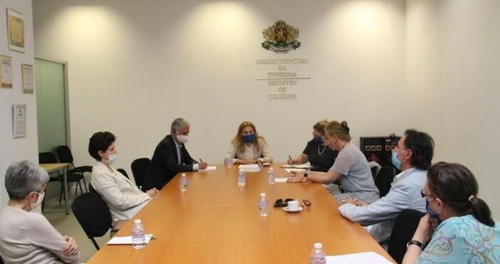 фото:Министерство на туризмаНовият министър на туризма Марияна Николова започна поредица