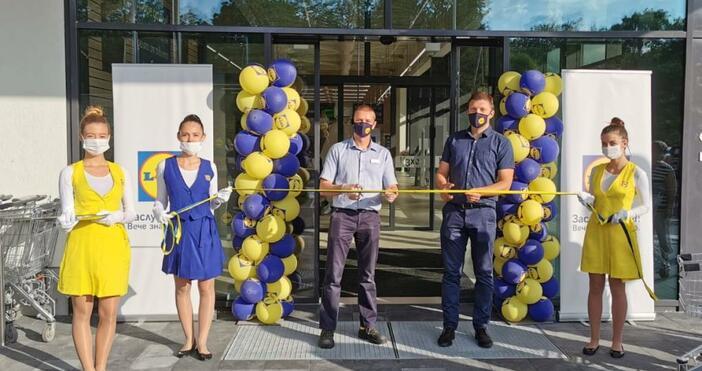 Днес отвори врати най-новият Lidl магазин в гр. Варна, който