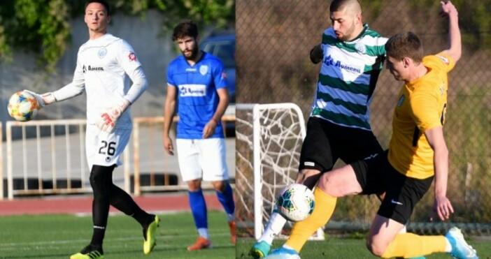 Източник и снимка: Сайт на Черно мореДвама футболисти от представителния