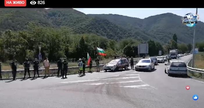 Blagoevgrad-NEWSпредава на живо в моментаВнезапно протестиращи са блокирали международен път