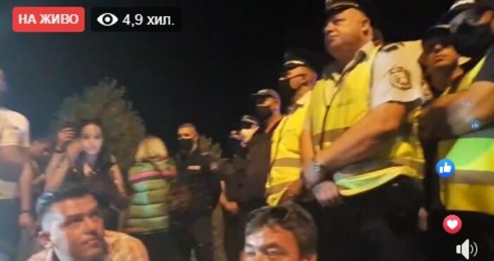 кадър: Отровното трио, фейсбукСчитаните за организатори на протестите срещу властта