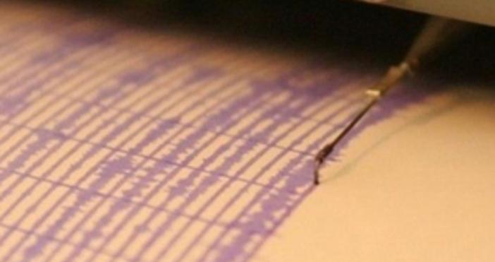 снимка БулфотоЗеметресение с магнитуд 3 по скалата на Рихтере регистрирано