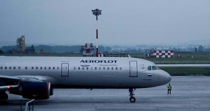 """снимка PixabayРуският въздушен превозвач """"Аерофлот"""" обяви, че отменя голям брой"""