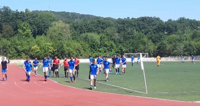 Източник и снимка: фейсбукДетският отбор по футбол на Спартак спечели