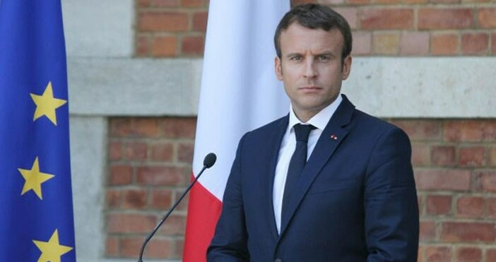 БНРснимка: БулфотоФренският президент Емануел Макрон отрече да се стреми да