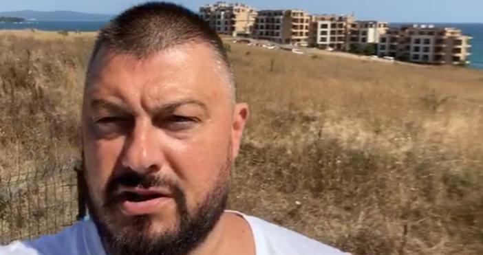 Кадър ФБ, БарековНиколай Бареков се намира на Буджака недалеч откъща,