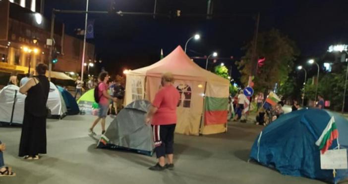 Снимка: Донка Джендова, фейсбукДнес малко след 18:30 часа на кръстовището