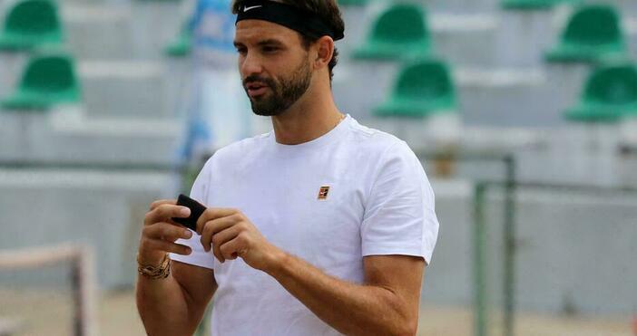Снимка: БулфотоНай-добрият ни тенисист Григор Димитров даде откровено интервю пред