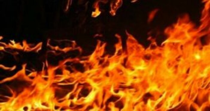 снимка БулфотоСитуацията с пожарите в Хасковска област е критична. Пламъците,