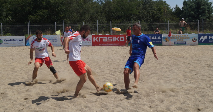 Снимка: Facebook/Bulgaria Beach SoccerОтборите на Любимец-13 (Варна), Спортната асоциация на