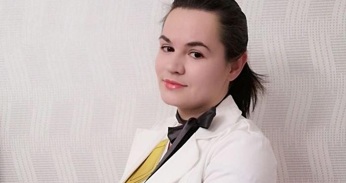 Снимка: Фейсбук: Светлана ТихановскаВодачът на беларуската опозиция Светлана Тихановска е