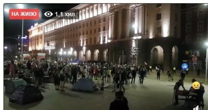 БулфотоИнициаторите на продължаващите 34-ти ден протести с искане за оставка