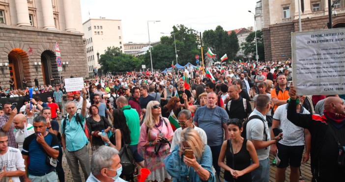 снимка БулфотоМного хора одобряват и подкрепят този протест, макар да