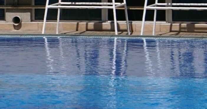 снимка: Булфото33-годишниятЦанко Цанковпланира да плува 12 часа без прекъсване вбасейнБългаринът